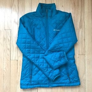 Columbia Wilmost Quilted Insulated Jacket, Teal(S)